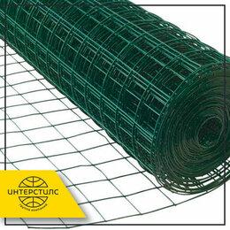 Металлопрокат - Сетка сварная 50x50x1,6 мм 1,5x50 м с полимерным покрытием ПВХ, 0