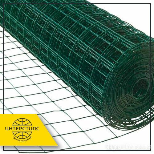Сетка сварная 50x50x1,6 мм 1,5x50 м с полимерным покрытием ПВХ по цене 5782₽ - Металлопрокат, фото 0