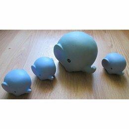 Игрушки для ванной - Игрушки для купания «Семейка Слоников»., 0