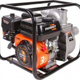 Мотопомпы - Мотопомпа бензиновая PATRIOT MP 4090S для слабозагрязненной воды [335101640], 0