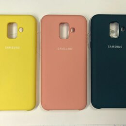 Чехлы - Чехол Samsung Galaxy A6 2018 Soft Touch , 0
