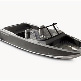 "Моторные лодки и катера - Катер Volzanka 46 Fish"" с мотором Yamaha F60 FETL, 0"