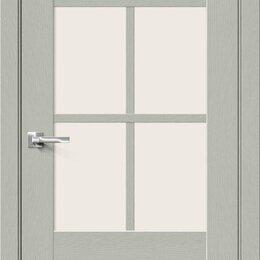 Входные двери - Межкомнатная дверь с экошпоном Прима-13.0.1 Grey Wood   Magic Fog, 0