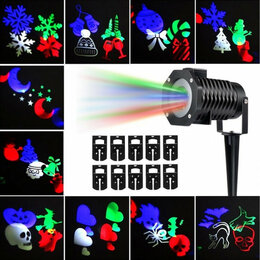"Проекторы - Проектор ""Christmas led projector light"", 0"