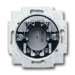 Кабели и разъемы - Выключатель жалюзи двухполюсный ABB BJE 10A 250V с фиксацией 2CKA001101A0872, 0
