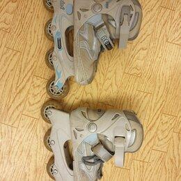 Роликовые коньки - Роликовые коньки размер 35-36, 0