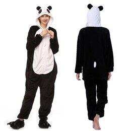 Одежда и обувь - Кигуруми Панда (130см), 0