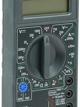 Измерительные инструменты и приборы - Мультиметр цифровой Universal M832 IEK TMD-2S-832, 0