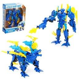 Роботы и трансформеры - Робот «Монстр», трансформируется, цвет синий, 0