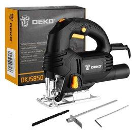 Лобзики - Электролобзик DEKO DKJS850 850 Вт, регулировка оборотов, с маятниковым ходом , 0