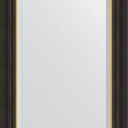 Зеркала - Зеркало Evoform Exclusive BY 3924 54x84 см черное дерево с золотом, 0