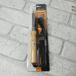 Электрические паяльники - Паяльник  65Вт- 220В  деревянная ручка (тонкое жало), 0