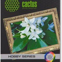Бумага и пленка - Фотобумага Cactus CS-DA419010 A4, 0