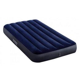 Кровати - Матрас-велюр синий(76х191х25), 0