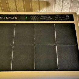 Ударные установки и инструменты - Барабанный модуль Roland SPD-8, 0