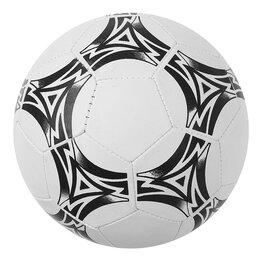 Мячи - Мяч футбольный, размер 5, 32 панели, 2 подслоя, PVC, машинная сшивка, 200 г, 0