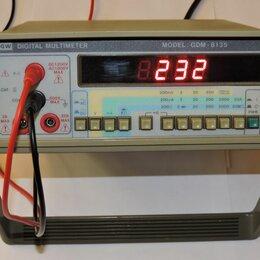 Измерительные инструменты и приборы - Мультиметр  GDM-8135, 0