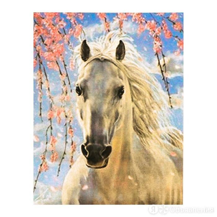 Роспись по холсту 'Конь в цветах' по номерам с красками по3 мл+ кисти+инстр-я... по цене 684₽ - Средства индивидуальной защиты, фото 0