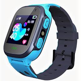Аксессуары для умных часов и браслетов - Смарт-часы Q15, детские, Sim, LCD, LBS, камера, фонарик, синий, 0