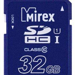 Карты памяти - Карта памяти SDHC  32GB  Mirex Class 10, 0