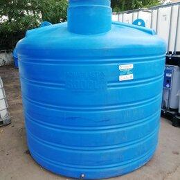 Баки - Бак для воды пластиковый овально-вертикальный 5000 литров Аквапласт, 0
