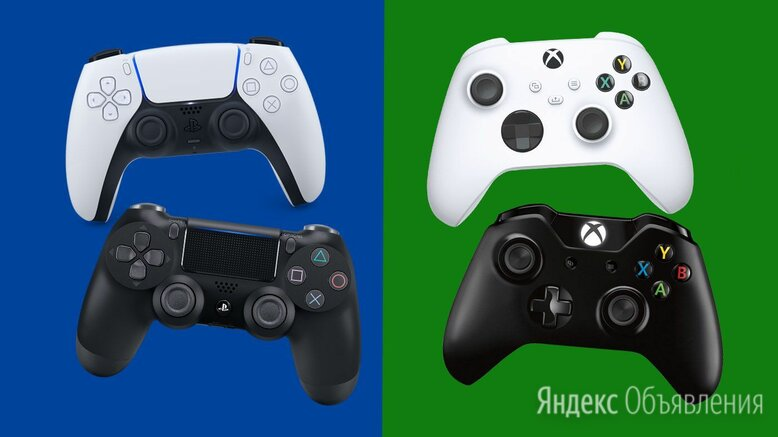 Джостики Оптом PS1, Ps2, Ps3, Ps4 Xbox 360 по цене 500₽ - Рули, джойстики, геймпады, фото 0