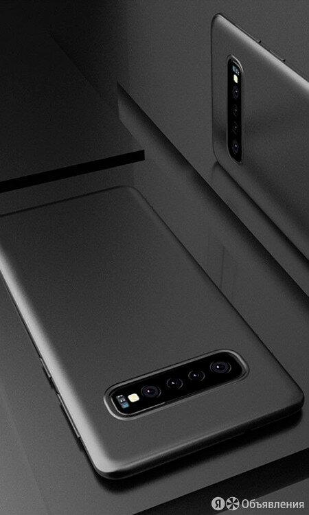 Чехол для Galaxy A51 накладка силикон черная по цене 242₽ - Защитные пленки и стекла, фото 0