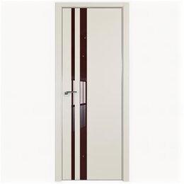 Межкомнатные двери - Межкомнатные двери Profil Doors 16E Магнолия Сатинат Стекло Lacobel Коричневы..., 0