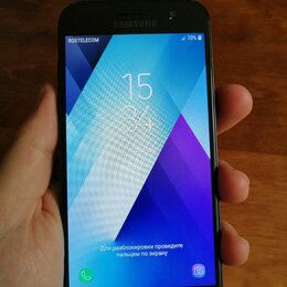 Мобильные телефоны - Смартфон Samsung Galaxy A3 (2017) Black, 0