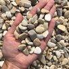 Морская галька бежевая  по цене 395₽ - Строительные смеси и сыпучие материалы, фото 0