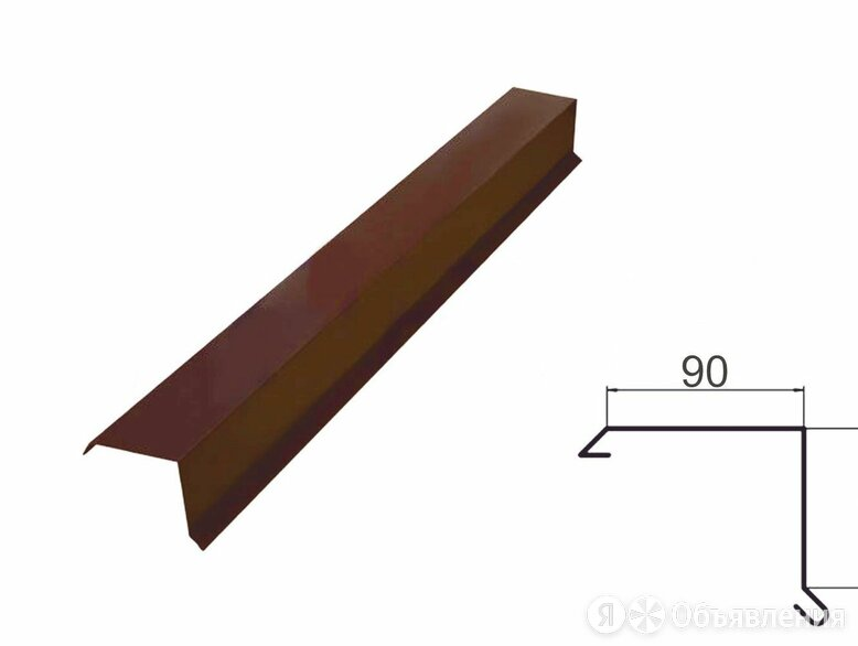 Продам Конёк , ветровая планка , яндова  по цене 600₽ - Кровля и водосток, фото 0