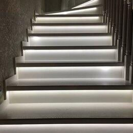 Интерьерная подсветка - Автоматическая подсветка ступеней лестницы, Бегущий огонь, 0