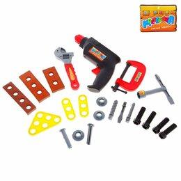 Детские наборы инструментов - Набор инструментов «Умелец-3», в пакете, 0