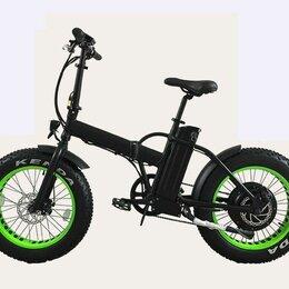 Велосипеды - Электровелосипед Фэтбайк складной 500W GH-32009, 0