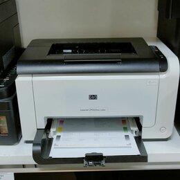 Принтеры, сканеры и МФУ - Принтер лазерный HP LaserJet Pro Color CP1025nw, 0