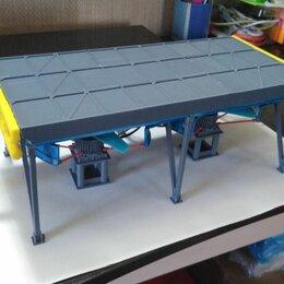 Сборные модели - Макет аппарата воздушного охлаждения газа типа АВГ-75С , 0