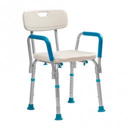 Кресла и стулья - Стул для ванны Lux 620 с поручнями, 0