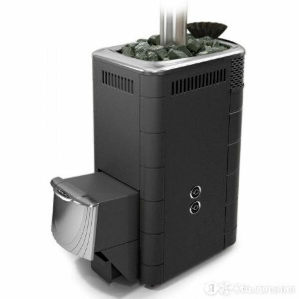 Дровяная печь для бани Термофор Гейзер XXL 2017 Carbon ДН ЗК ТО антрацит по цене 31399₽ - Камины и печи, фото 0
