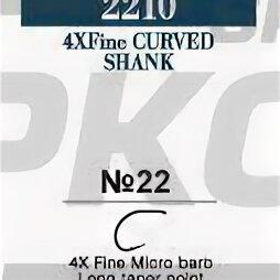 Дизайн, изготовление и реставрация товаров - Крючки Varivas Fly Hooks 2210 BN №22 1/30, 0