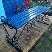 Скамейки из стального квадрата холодная ковка по цене 2500₽ - Скамейки, фото 1