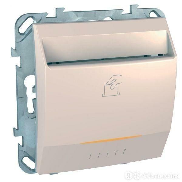 Механизм выключателя карточный 10А бежевый UNICA Schneider Electric по цене 2073₽ - Электроустановочные изделия, фото 0