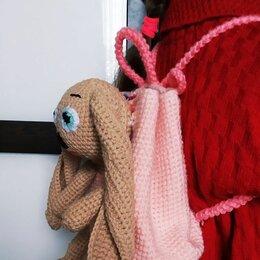 Мягкие игрушки - Вязаные крючком рюкзаки игрушка, 0