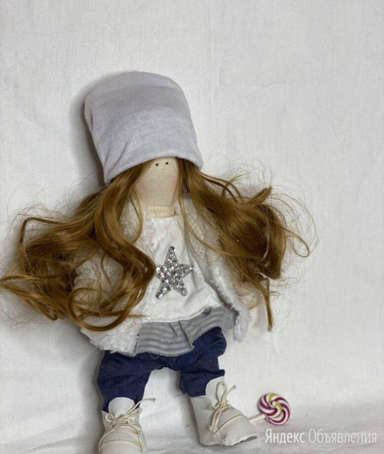 Интерьерная кукла в джинсах по цене 4500₽ - Мягкие игрушки, фото 0