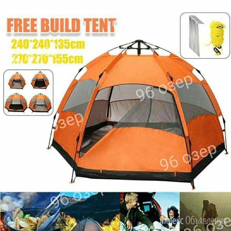 Палатка автомат 3-4 местная по цене 5500₽ - Палатки, фото 0