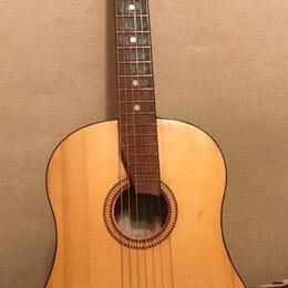 Акустические и классические гитары - Гитара акустическая новые струны, 0