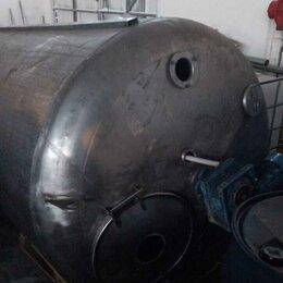 Прочее оборудование - Емкость Я1-ОСВ-2,5 с мешалкой нержавеющая сталь 2500 л, 0