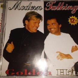 Музыкальные CD и аудиокассеты - Modern talking golden hits cd как новый, 0