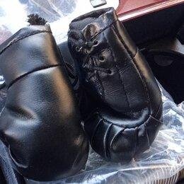 Боксерские перчатки - Перчатки бокс экокожа 2 шт, 0