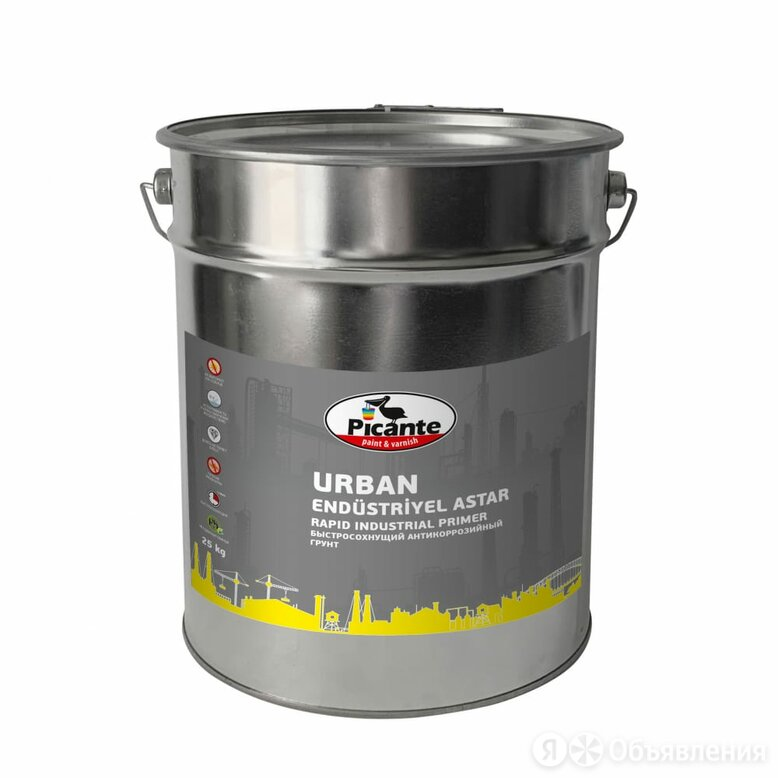 Быстросохнущий грунт Picante URBAN по цене 5876₽ - Субстраты, грунты, мульча, фото 0