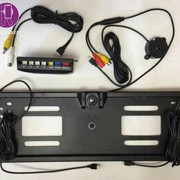 Видеокамеры - Рамка + камера заднего вида 2 в 1, 0